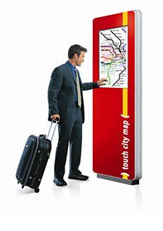 Interaktives Werbeplakat für die Out-of-home Werbung von friendlyway