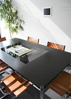 Digitaler Schreibtisch von friendlyway auf der ISE 2008