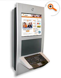 Touch screen kiosk and Kiosk design - Nagy�t�shoz kattintson ide!